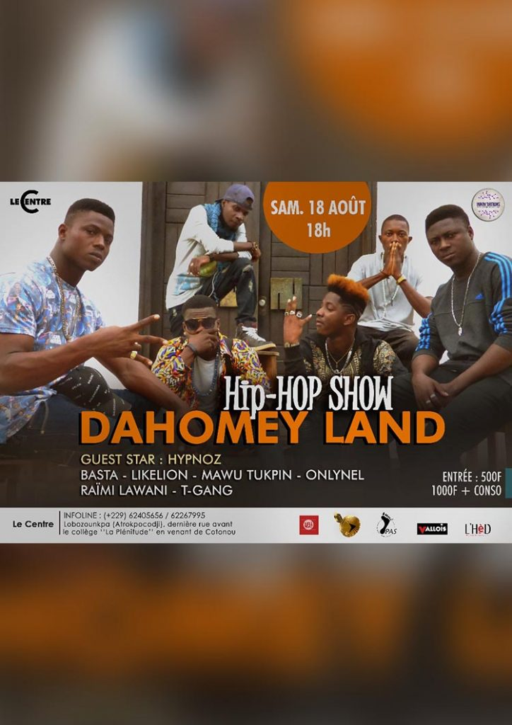 Dahomey Land Hip-Hop Show #1