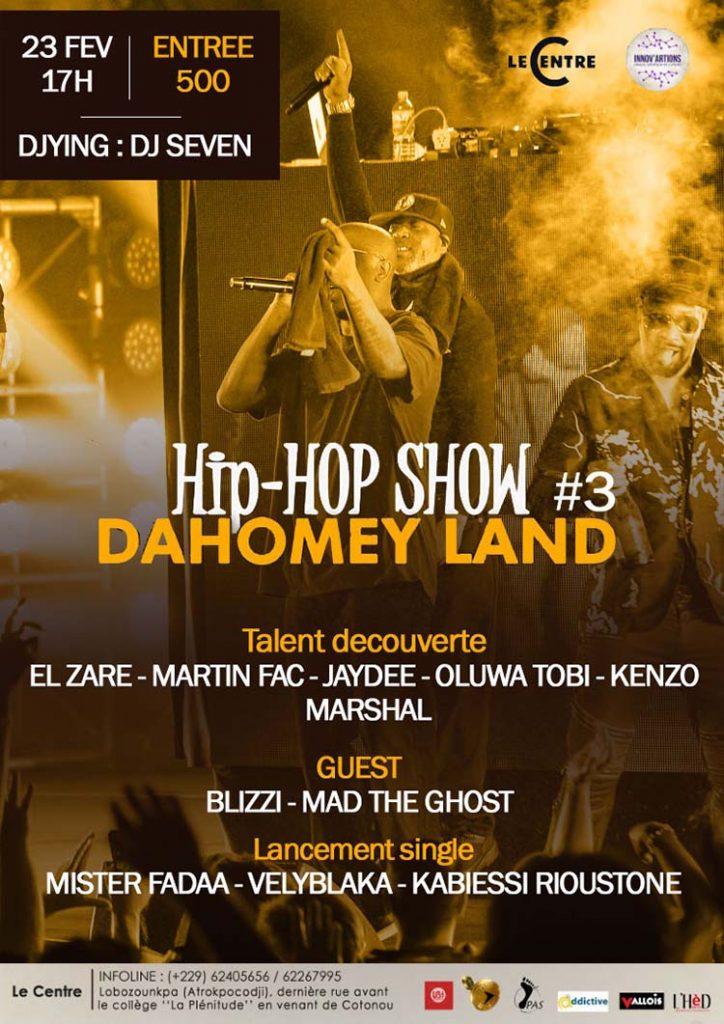 Dahomey Land Hip-Hop Show #3
