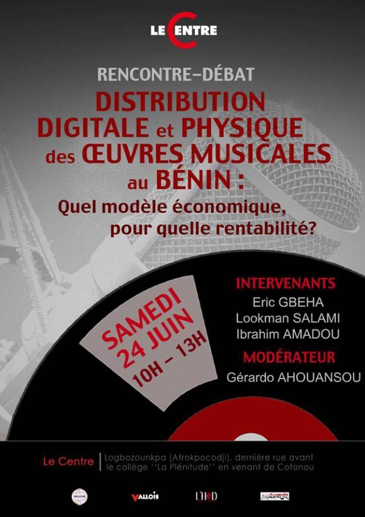 Distribution digitale et physique des oeuvres musicales au Bénin : quel modèle économique, pour quelle rentabilité ?