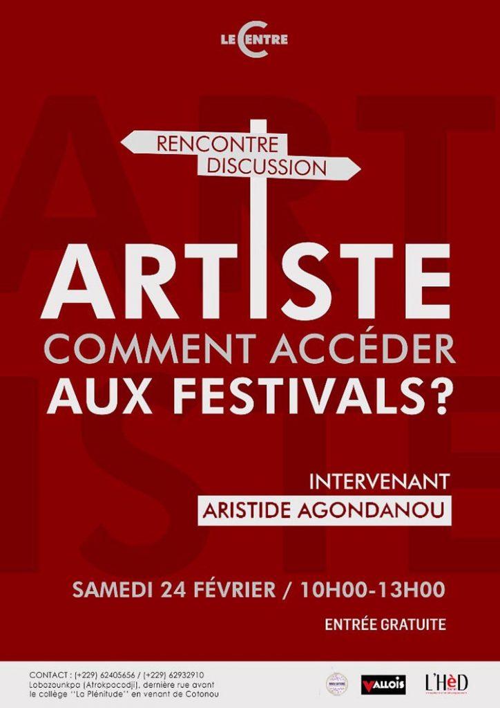 Artiste, comment accéder aux festivals ?
